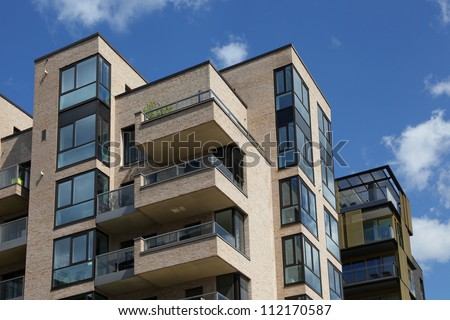 Modern Apartments Stock Images RoyaltyFree Images  Vectors - Apartment house images