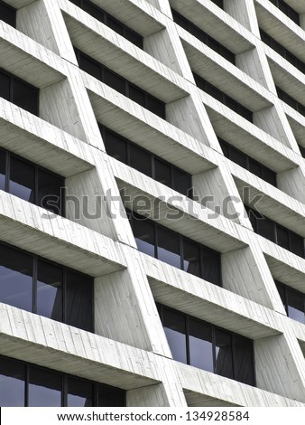 Modern Architecture Detail architecture corner horizontal detail modern building stock photo