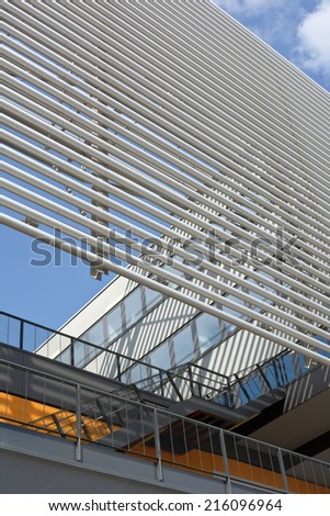 Modern Architecture as Symbol of Corporate Identity - stock photo