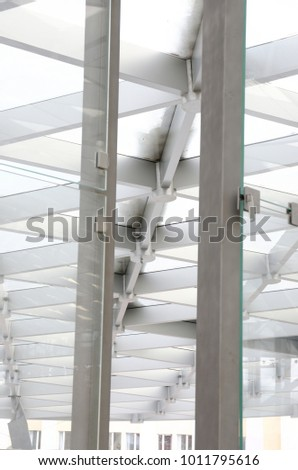 Modern Architecture Elements Stock Photo (Safe to Use) 1011795616 ...