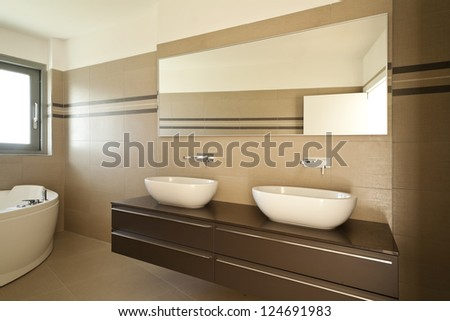 Empty Apartment Bathroom bathroom cabinet stock images, royalty-free images & vectors