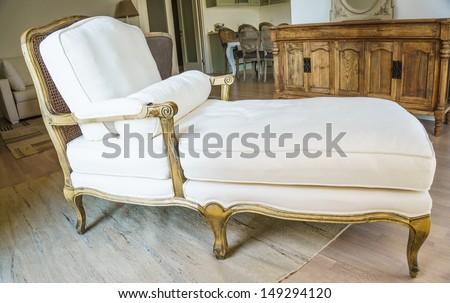modern armchair - stock photo