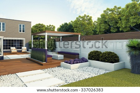 Surprising Back Garden Stock Images Royaltyfree Images  Vectors  Shutterstock With Engaging Modern Back Garden Of The House With Captivating Garden Design For Kids Also Gardens In Lincolnshire In Addition Holly Bush Garden Centre And Fowlers Grove Winter Garden As Well As Garden Clearance Kent Additionally Small Garden Fencing From Shutterstockcom With   Engaging Back Garden Stock Images Royaltyfree Images  Vectors  Shutterstock With Captivating Modern Back Garden Of The House And Surprising Garden Design For Kids Also Gardens In Lincolnshire In Addition Holly Bush Garden Centre From Shutterstockcom
