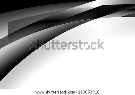 modern background with metal strips - stock photo