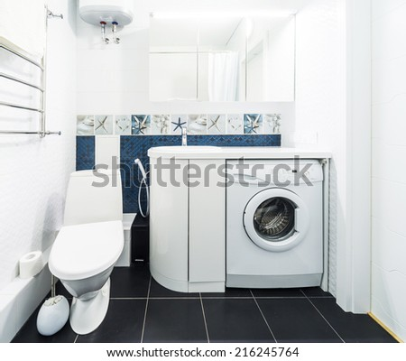 Stock images royalty free images vectors shutterstock for Kitchen cabinet washing machine