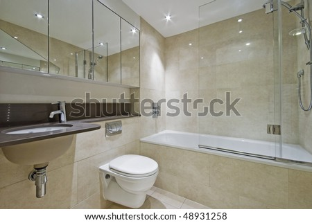 bathroom tile ceiling master bathroom new luxury home bathtub stock photo 11571