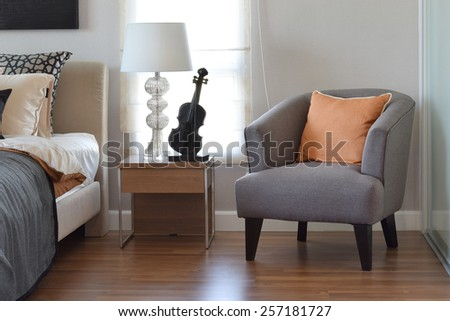 3d rendering of modern bedroom with floor to ceiling windows bedroom