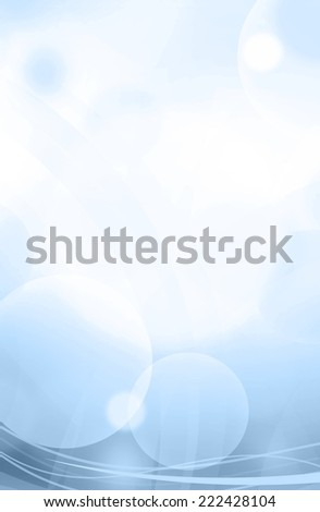 modern blue vertical abstract background illustration - stock photo