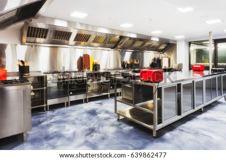 Fast Food Restaurant Kitchen Equipment restaurant equipment stock images, royalty-free images & vectors