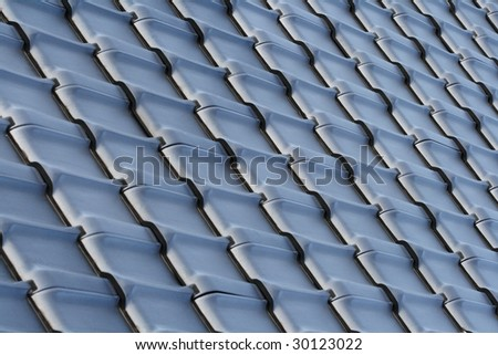 modern brick array - stock photo