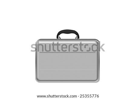 Modern briefcase for exclusive businessman