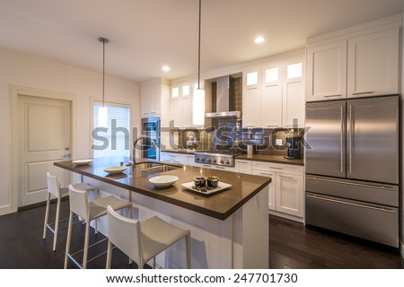Luxury Kitchen Interior Stock Images Royalty Free Images