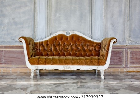 modern brown sofa