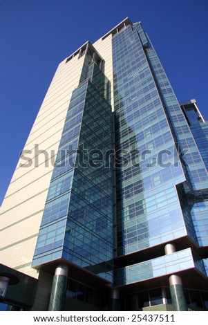 modern building of business center - stock photo