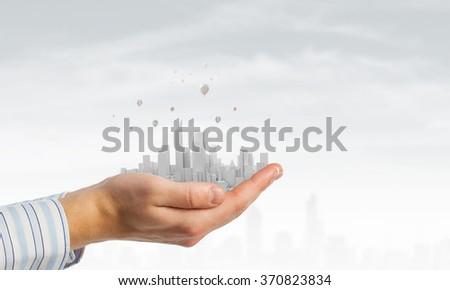 Modern buildings and landmarks - stock photo