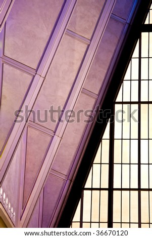 Modern ceiling - stock photo