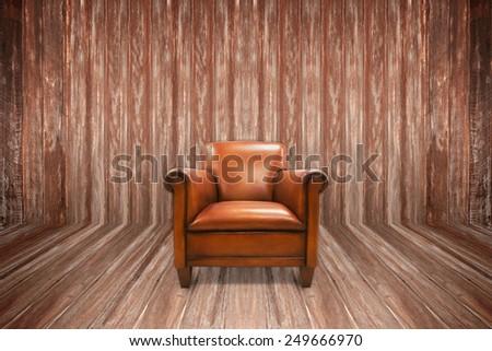 Modern Chair interior - stock photo