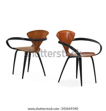 Modern Chairs - stock photo