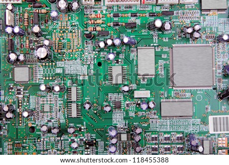 modern circuit board for backgrounds