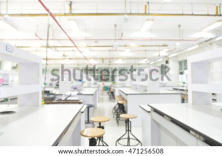 Modern clean research laboratory
