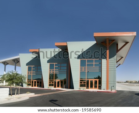Modern Commercial Facility