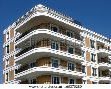 Modern Construction - stock photo