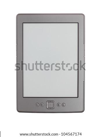 Modern e-book reader - stock photo