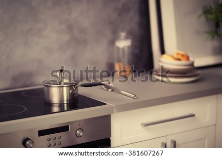 Cooktops for cookers pressure plate induction