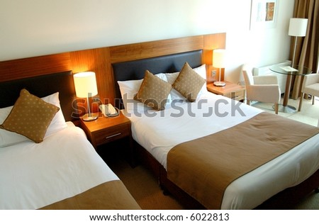 Modern Executive Hotel Bedroom