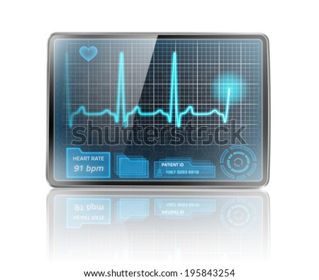 Modern healthcare device - stock photo