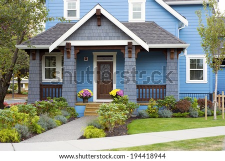 Modern Home - stock photo