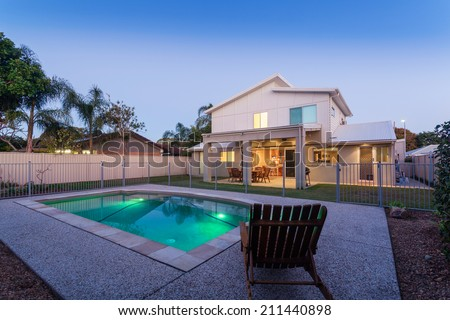 House Pool Stock Images Royalty Free Images Vectors Shutterstock