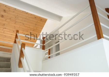 Modern Home Foyer - stock photo