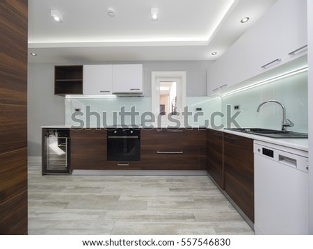Modern home kitchen