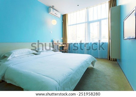 modern hotel interior and decoration - stock photo