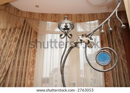 Modern house interior details - stock photo