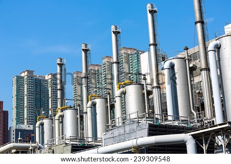 Modern Industry - stock photo