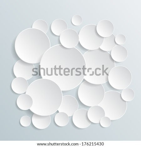 Modern info graphic for business project (raster copy) - stock photo