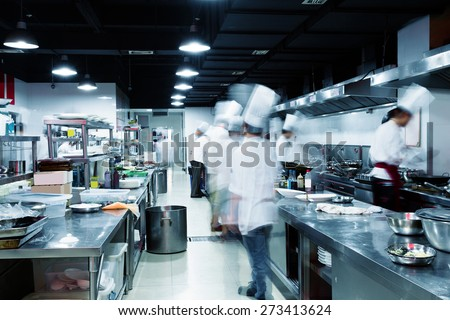 Busy Restaurant Kitchen busy restaurant stock images, royalty-free images & vectors