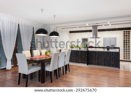 Modern Dining Room Stock Images Royalty Free Images Vectors