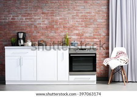 Kitchen Wall Background kitchen wall stock images, royalty-free images & vectors