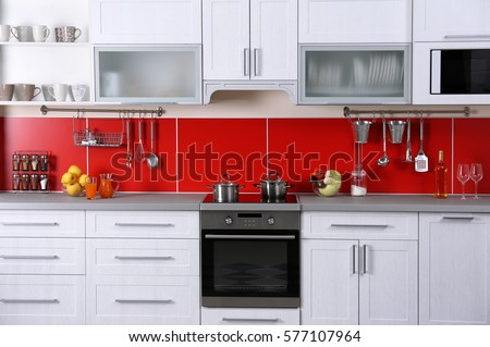 Modern Kitchen Interior Stock Images RoyaltyFree Images
