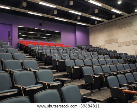 Modern lecture theater