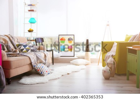 Clean Living Room Stock Images, Royalty-Free Images & Vectors ...