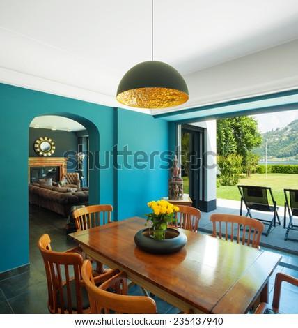 Modern livingroom - stock photo