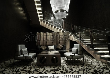 Lounge bar stock images royalty free images vectors shutterstock - Moderne loungebar ...