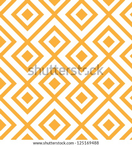 MODERN LOZENGE SHAPED GEOMETRIC PATTERN. Editable repeatable geometric pattern. - stock photo