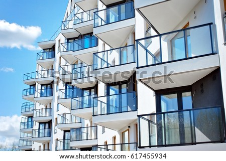 Modern Apartment Building Stock Images, Royalty-Free Images ...