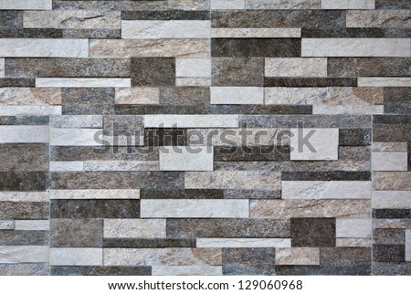 modern marble stone wall background texture - stock photo