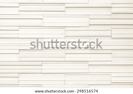 Modern marble tile wall : Granite tiled wall detailed pattern texture background in natural light creme beige color tone  - stock photo